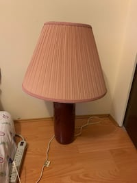 Living room table lamp