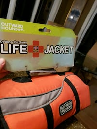 Small Dog Life Jacket Brand new