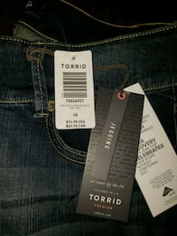 Blue denim jeans Toronto, M5T 2K5