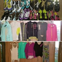 assorted color clothes lot collage Miramar