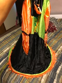 Girls witch outfit costume dress fun colors Oklahoma City, 73099