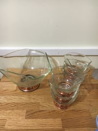 clear glass bowl with lid Germantown, 20874