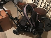 baby's black and gray stroller Romeoville, 60446