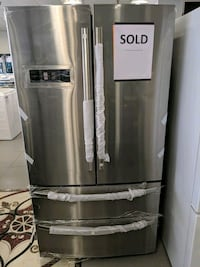 stainless steel french door refrigerator Toronto, M9W 1S7
