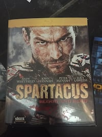 Spartacus Blood and Sand Blu-ray DVD case Rocky View No. 44, T3R 1C7