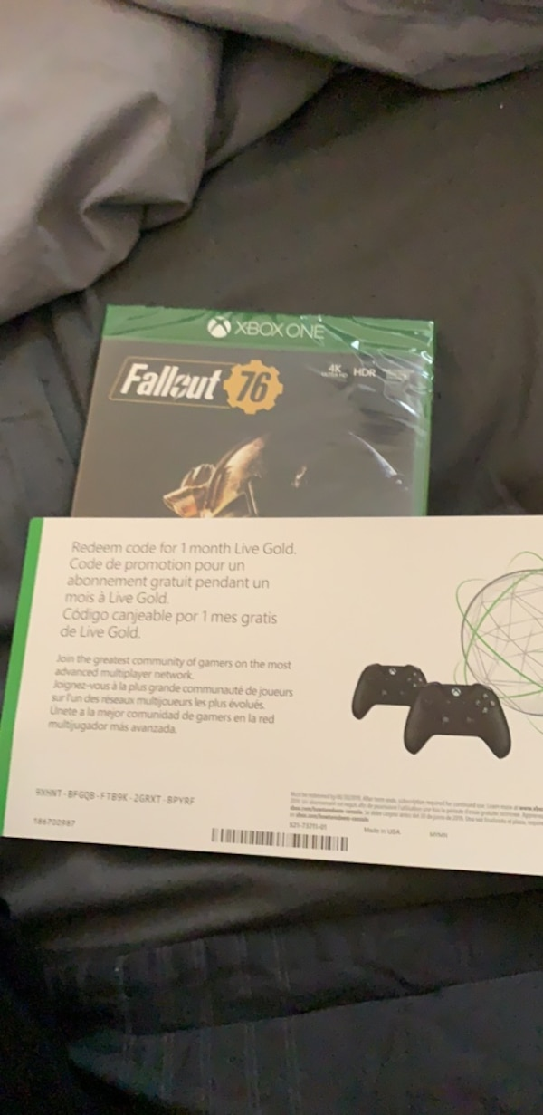fallout 76 and one month xbox live
