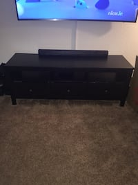 black wooden TV stand with drawer Orlando, 32806