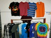 Boys assorted color shirts
