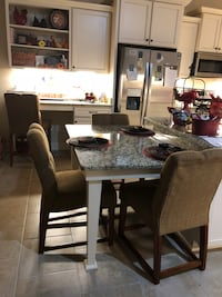 Table height dining chairs 3/$50 Broussard, 70518