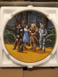 Wizard of Oz Collectible decorative plate