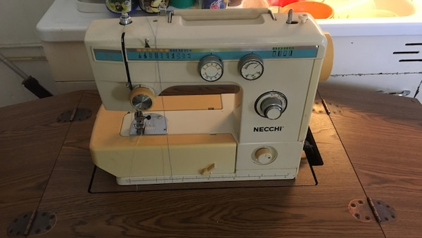 Used Sewing Machine An Hideaway Cabinet For Sale In Akron Letgo Inspiration Hideaway Sewing Machine Cabinet