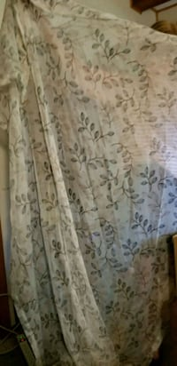 2 panel sheer curtains Crystal
