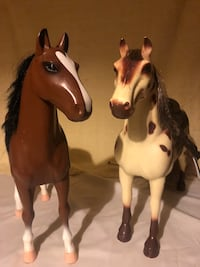 Tall Battat Horses Appaloosa and Stallion  Cincinnati