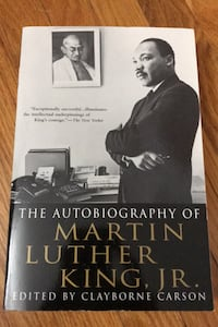 Autobiography of Martin Luther King, Jr edited by Clayborne Carson