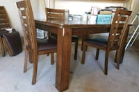 Dinning room table with leaf w/ 6 chairs Montclair, 22025