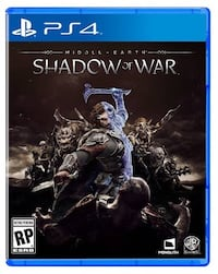 The Lord Of Ring's Middle Earth Shadow of War PS4 Yüzüklerin efendisi