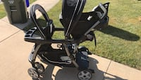 Graco Brand new double stroller, used once
