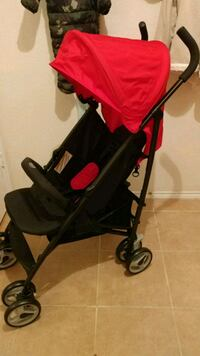 baby's black and red stroller Baytown, 77521