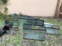 Aquariums for sale - must take all Melbourne, 32901