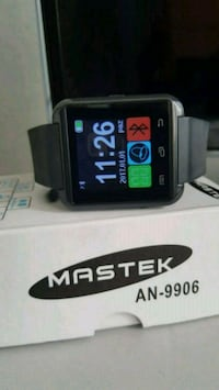 siyah Bluetooth smartwatch 8604 km
