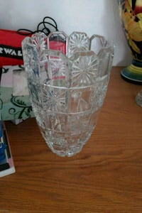 clear cut glass pitcher with glass Ceres, 95307