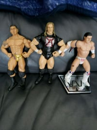 VINTAGE WWF AND WWE SUPERSTAR FIGURES  Montreal, H9H 1E3