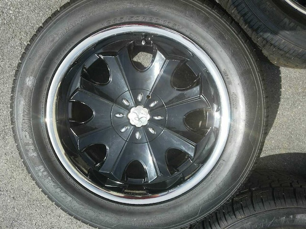 20 in universal rims and tires