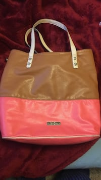 brown and pink leather tote bag Flagstaff, 86005