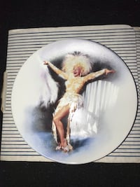 Marilyn Monroe plate  New Haven, 06513
