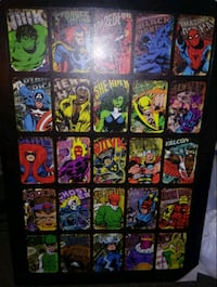 Comic book characters picture