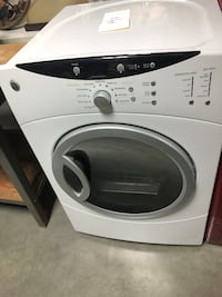 white Whirlpool front-load clothes washer Newport News, 23602