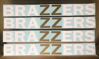 BRAZZERS DECAL WINDSHIELD  BANNER Montréal