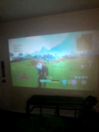 VIVIBRIGHT Android 6.0.1 LED Projector GP100 UP   Chattanooga