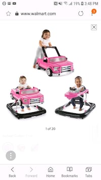 Pink ford 150 baby walker.  Mississauga, L4W 4A1