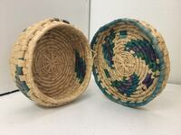 Hand Crafted Woven Natural Fiber Hat Box Los Angeles, 90034