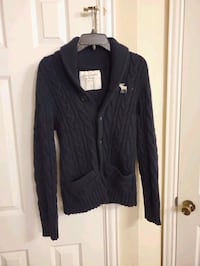 ABERCROMBIE cable knit cardigan