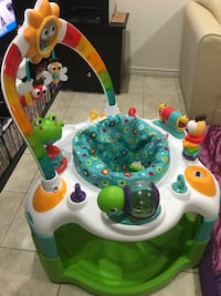 Baby's multi-colored activity saucer Mississauga, L5R 2H4