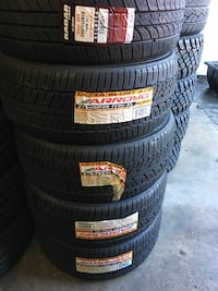 275/45R20 SET OF 4 TIRES ON SALE WE CARRY ALL MAJOR BRANDS  Union City, 94587
