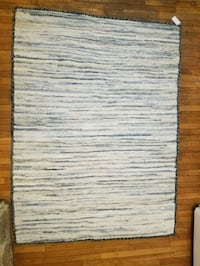 gray and white area rug Bethesda, 20815