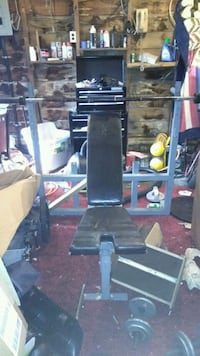 Comes with bar great weight bench Temperance, 48182