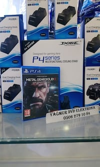 Metal Gear Solid V Ground Zeroes PS4 OYUN İzmirspor Metro Çıkışı