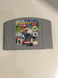 Nintendo 64 mario kart cartridge