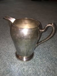 """Vintage Silver on Copper Tall Pitcher 8"""" Jacksonville, 32257"""