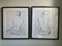 Set of 2 drawings  Washington, 20036
