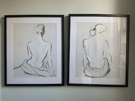 Set of 2 drawings