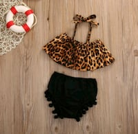 Cheetah Print 2pcs set. new North Las Vegas, 89032