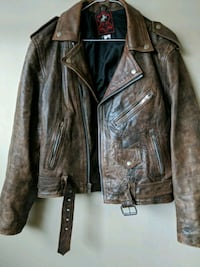 Vintage Leather biker jacket  Halton Hills, L7G 4C3