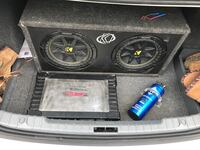 black Kicker subwoofer with enclosure Guelph, N1E 2H9