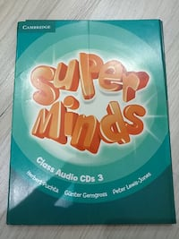 Super Minds Class Audio Cds 3