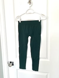 XS emerald green stretchy women's leggings pants